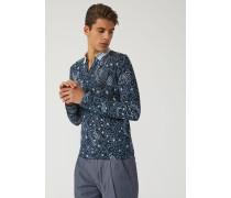 Pullover Aus Bedrucktem Jersey