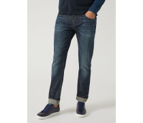Regular Fit-jeans J10 Aus Denim/baumwollstretch