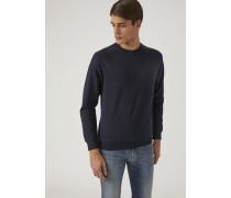 Sweatshirt Aus Baumwollstretch Mit Logo