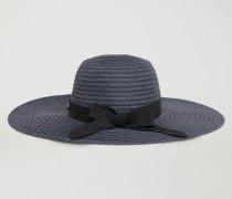 Geflochtener Hut Mit Breiter Krempe