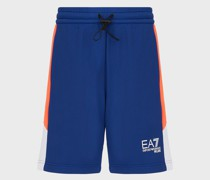 Shorts aus Sweatjersey mit Logo