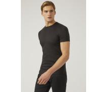 Jersey-t-shirt Mit Allover-print