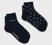 2er-pack Socken mit Allover-Adler