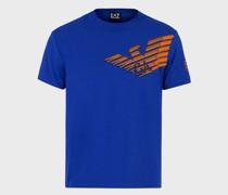 Graphic Series T-Shirt aus Baumwolljersey mit Logo