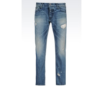 JEANS TAPERED LIGHT WASH