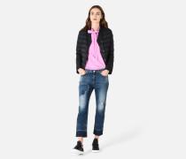 Pullover Aus Vanisé-jersey Mit Schleife
