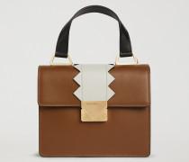 Mini-bag Mit Zickzack-detail
