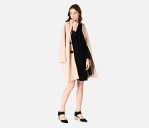 Kleid Aus Einer Sablé-wollstretch-mischung Mit Schleifchen