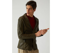 Jacke Aus Nappaleder In Washed-optik