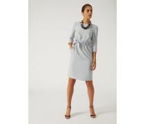 Kleid Mit Elastischer Taille Und Knoten