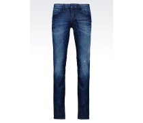 SLIM FIT JEANS IN MITTLERER WASCHUNG