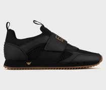 Sneaker Black & White Strap