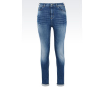 Super Skinny Jeans aus Baumwollstretch