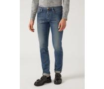 Slim Fit-jeans J00 Aus Denim/baumwollstretch
