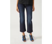 Cropped Jeans J34 Mit Stonewash-behandlung