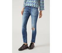 Super Skinny Jeans J28 Mit Rissen