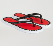 Flipfflops Aus Pvc Mit Logo