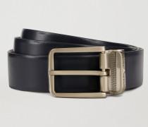 Wendegürtel aus Zweifarbigem Leder