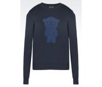 Pullover aus Baumwolljacquard