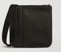 Crossbody Bag Aus Logo-kunstleder