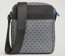 Crossbody Bag Aus Geprägtem Leder Mit Allover-logo