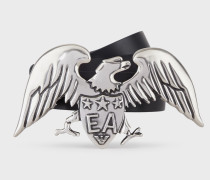 Icon Gürtel aus Leder mit Adler