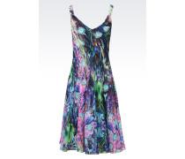 Negligé-Kleid aus reinem Seidenchiffon