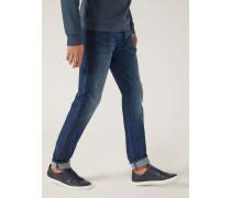 Regular Fit-jeans J02 Aus Denim/baumwollstretch