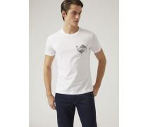 Jersey-t-shirt Mit Karpfen-print