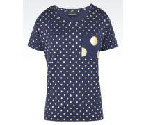 T-Hemd aus Jersey/Baumwollmix