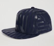 Snapback Cap Aus Baumwollgabardine