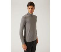 Pullover Aus Leichtem Seiden- Und Baumwollstrick