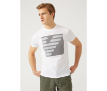 T-shirt Mit Zentralem Maxi-print
