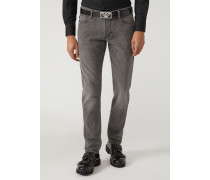 Slim Fit-jeans J06 Aus Denim/baumwollstretch