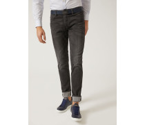 Extra Slim Fit-jeans J11 Aus Baumwoll-/modalstretch