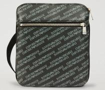 Crossbody Bag Aus Kunstleder Mit All-over-logo