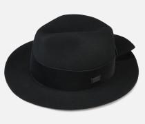 Mütze Aus Filz Und Samt Mit Lederschnalle