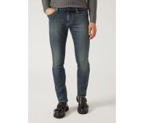 Slim Fit Jeans J06 Aus Denim/baumwollstretch