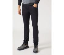 Regular Fit-jeans J10 Aus Fleece/baumwollstretch