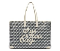 I Am A Plastic Bag Recycled-canvas Tote Bag