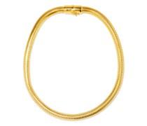 Serpentine 18kt Gold-vermeil Necklace