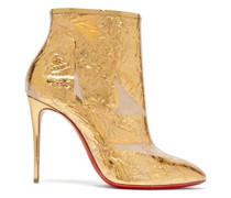 Booty Cap 100 Creased-foil Perspex Ankle Boots