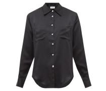 Carine Silk-satin Shirt