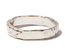 Spliced Sterling-silver Ring