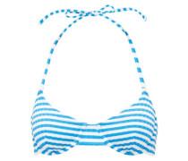 The Ginger Striped Underwired Bikini Top