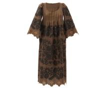 Mathilde Hand-embroidered Linen Dress