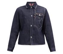 X Levi's Single-breasted Denim Jacket