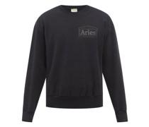 Temple-logo Cotton-jersey Sweatshirt