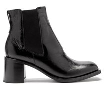 Low Shaft Leather Chelsea Boots
