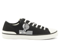 Binkooh Logo-print Cotton-canvas Trainers